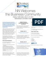 ICANN Durban Invitation for New Business Attendees