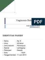 Vaginosis-Bakterial