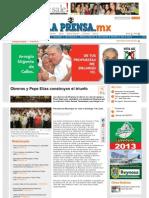 22-06-2013 Obreros y Pepe Elías construyen el triunfo
