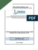 Proyecto Fortalecimiento Vivero. LP