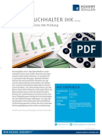 Datenblatt Bilanzbuchhalter IHK