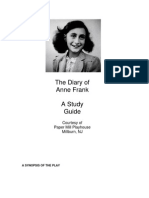 diary of anne frank study questions answers