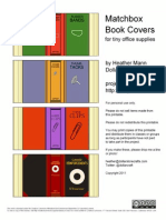 48778553 Matchbox Book Covers Printable