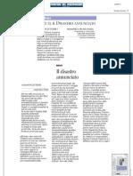 Gianni Lettieri - Lettera al Corriere