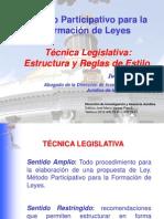 Curso Tecnica Legislativa Enero 2013 An