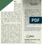 Harley Rutledge, Physics Today, September 1974, Pg 11