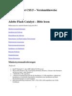Flash Catalyst CS5.5 - Bitte Lesen