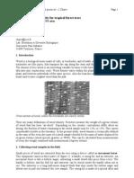 Chave 2005, Density. Wood Density Protocol