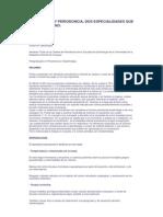 Ortodoncia y Periodoncia