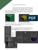 3d Max Estructura de Un Dado