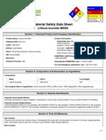 Properties of Lithium Bromide