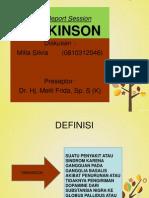Case Report Session Parkinson Milla
