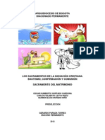 SACRAMENTOS INICIACIÓN CRISTIANA 2105