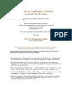 Lista de 600 terreiros de São Paulo