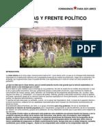 ALIANZAS Y FRENTE POLÍTICO