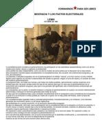 La Socialdemocracia y Los Pactos Electorales
