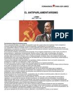 Sobre El Antiparlamentarismo Lenin
