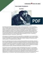 Tesis Sobre Feuerbach Marx