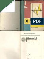 Manual matematica clasa a XI-a