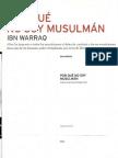 Por Qué No Soy Musulman