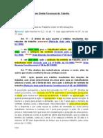 Estudos Avançados em Direito Processual do Trabalho - Matéria Digitada