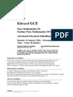 FP3-Jan 2006-QP