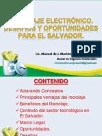 Reciclaje Electrónico. Desafíos y oportunidades en El Salvador 1