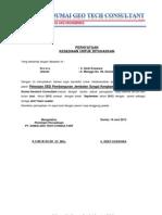 Surat Pernyataan Ditugaskan