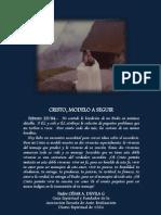 P. Dávila (Cristo, modelo a seguir)