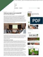 Unidos para mejorar en las Jornadas MDF - Revista » Flores y Plantas.net