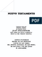 Straubinger Biblia Comentada Nuevo Testamento