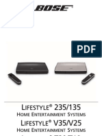 Owners Guide Lifestyle 135 235 System V25 V35 System Lifestyle T10 T20 System AM342774 00 Tcm6 36063