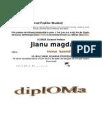 Diploma Jianu Magda