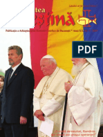 """Revista """"Actualitatea Creştină"""", luna mai 2009"""