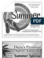 Summer 2013 Coupon Book