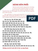 Nghi thức chứng hôn (PDF)