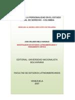 DERECHO A LA PERSONALIDAD EN EL ESTADO SOCIAL DE DERECHO - COLOMBIA