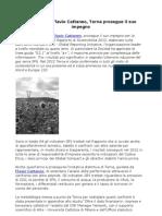 Terna prosegue il suo impegno per la sostenibilità (Flavio Cattaneo)