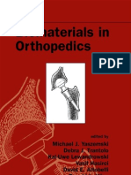 Biomaterials in Orthepadics
