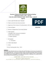 DOA Board Meeting March 06, 2013 Agenda Packet