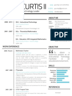 Glenn Curtis II's Resume and References