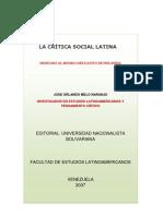 Critica de la sociedad en Latinoamerica