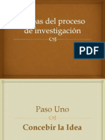 3.-Etapas del proceso de investigación