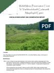 Cwm Elan Conservation Report