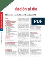 Elaboracion y Control de Gel de Carbopol