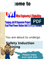 Safety Induction Training