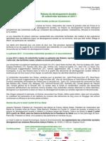 Communiqué de presse palmarès Rubans 2013