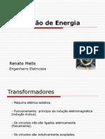 Conversão de Energia - Apresentação - TRANSFORMADORES