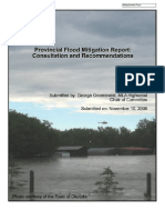 Provincial Flood Mitigation Report