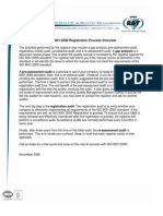 ISO 9001-2000 Registration Process Overview